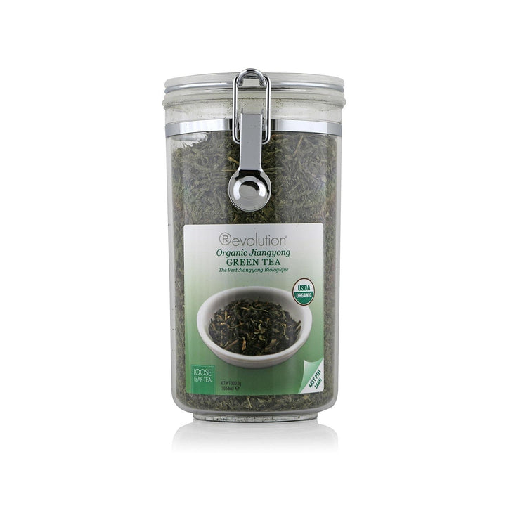 Organic Jiangyong Green Tea Loose Leaf Jar