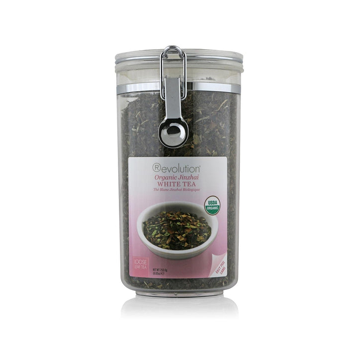Organic Jinzhai White Tea Loose Leaf Jar