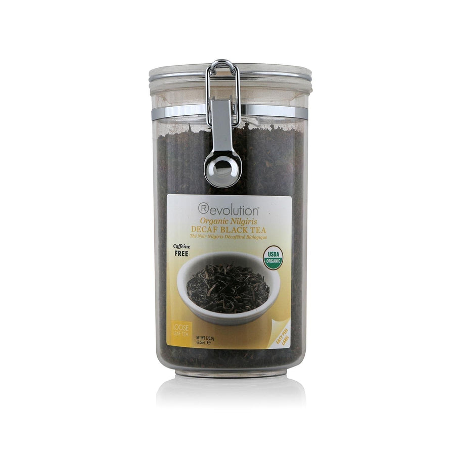 Organic Nilgiri Decaf Black Tea Loose Leaf Jar