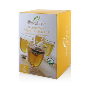 Revolution Organic Nilgiri Decaf Black Tea 20 Count