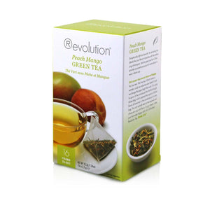 Peach Mango Green Tea 16 Count