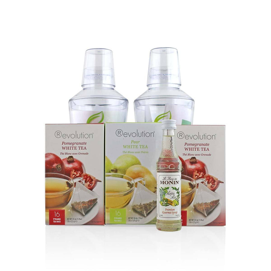 White Tea Bundle with Shakers
