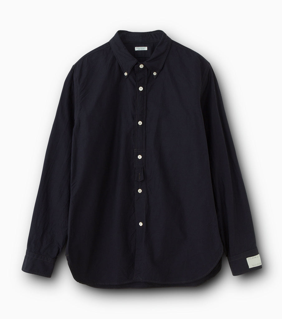 "PHIGVEL MAKERS & Co. ""Regular Collar Shirt"" G.Navy"