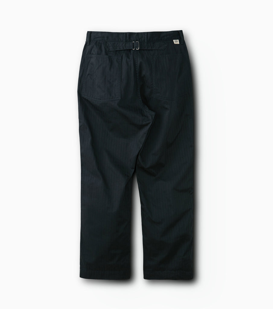 "PHIGVEL MAKERS & Co. ""Utility Trousers"" Ink Black"