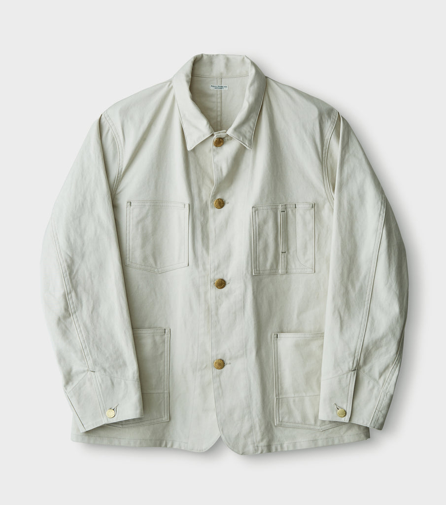 "PHIGVEL MAKERS & Co. ""Engineer Coverall"" Smoke Ivory"