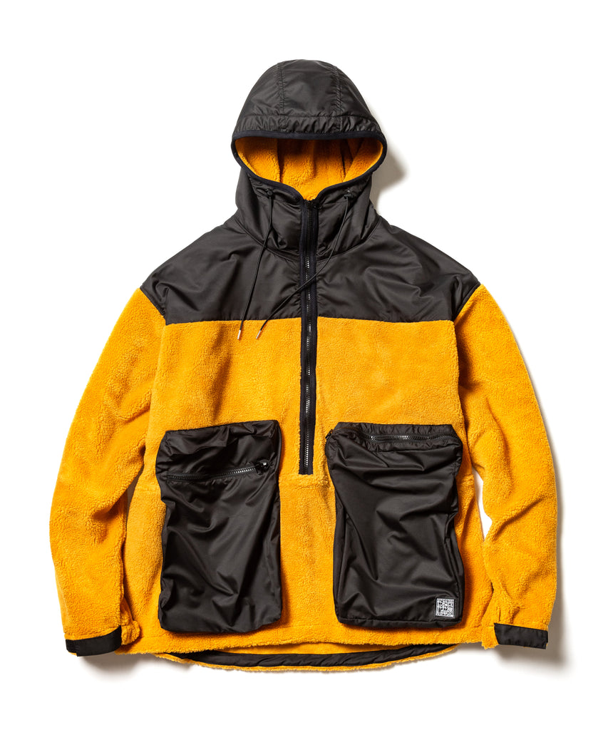"Flagstuff ""H/Z Fleece Jacket"" Mustard Brown"
