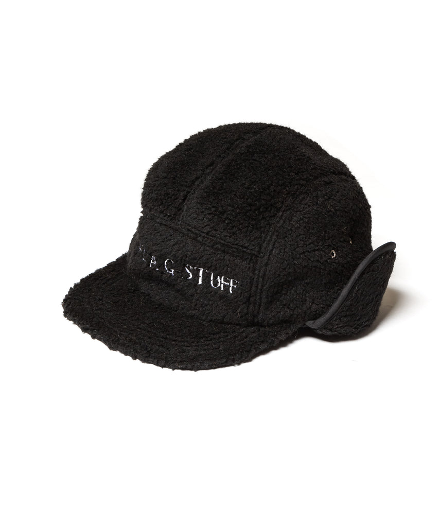 "Flagstuff ""Fleece Camp Hat"" Black"