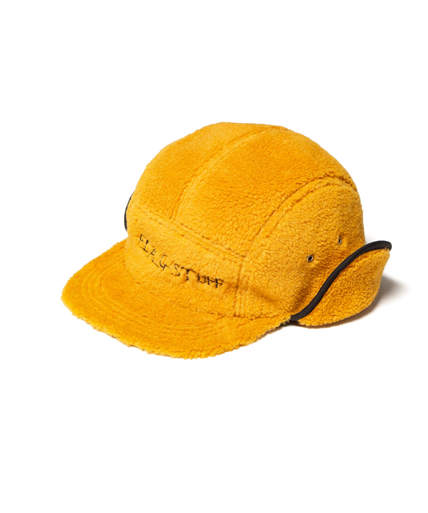 "Flagstuff ""Fleece Camp Hat""  Mustard Brown"