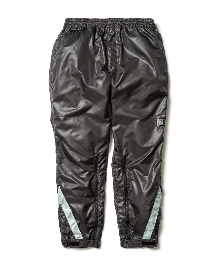 "Flagstuff ""Nylon Track pants"" Dark Gray x Silver"