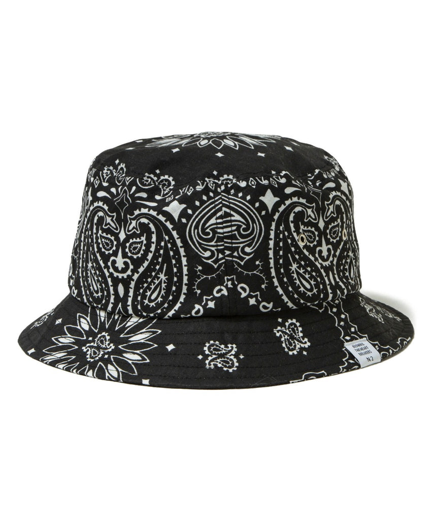 "Bedwin & The Heartbreakers ""BOBBY Bandana Beach Hat"" Black"