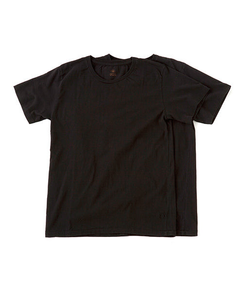 "Sandinista MFG ""Cadet Crew Neck 2-Pack Tee"" Black"