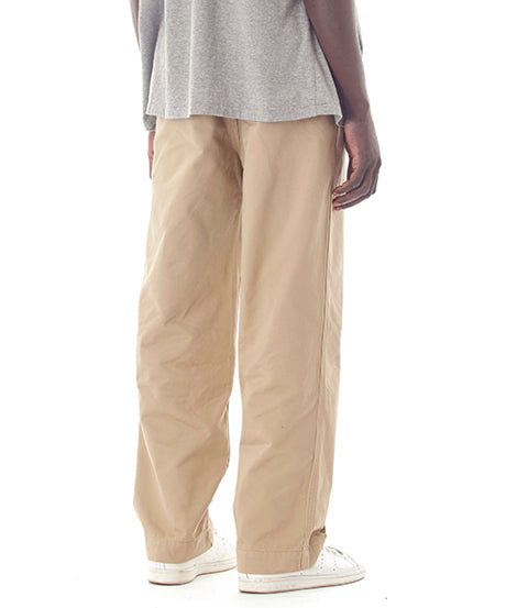 "Sandinista MFG ""B.C. Chino Pants Wide"" Beige"