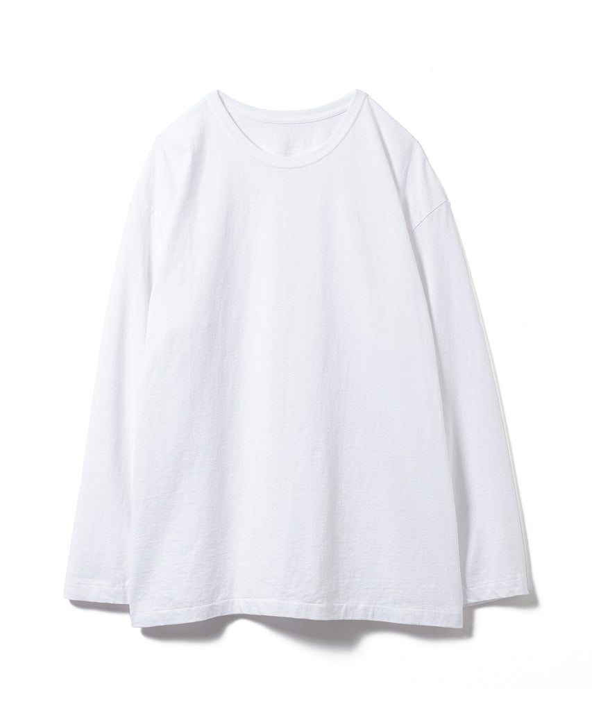 "Sandinista MFG ""Side Slit Long Sleeve"" White"