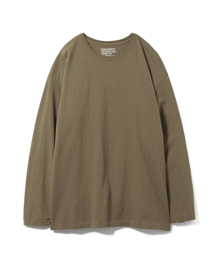 "Sandinista MFG ""Side Slit Long Sleeve"" Khaki"