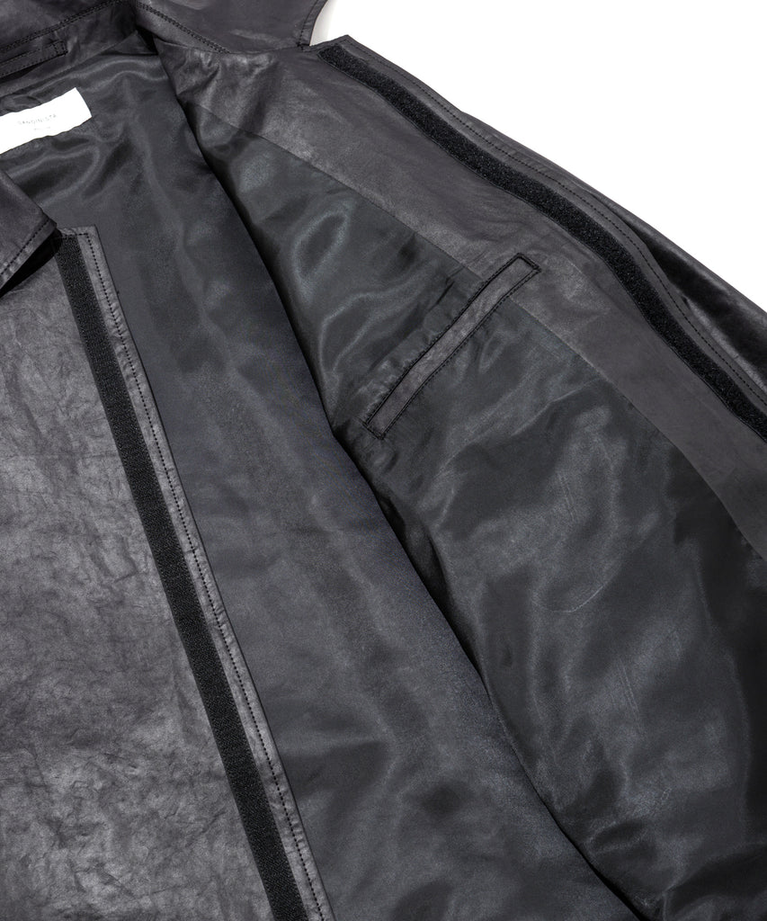 "Sandinista MFG ""Water Repellent Coach Jacket"" Black"