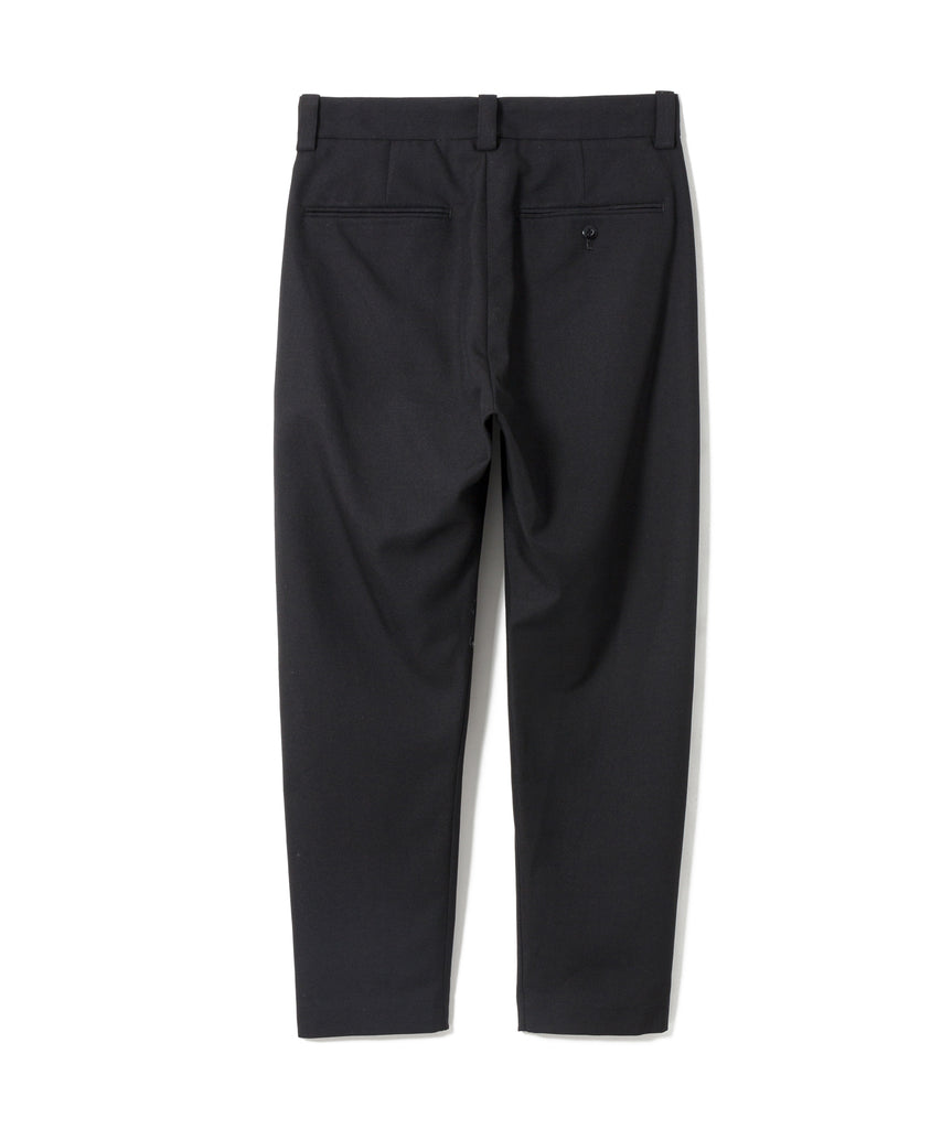 "Sandinista MFG ""Wool Tuck Pants - Easy Fit Tapered"" Black"