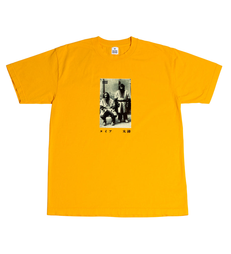 "Surround ""Ainu Tee"" Gold"