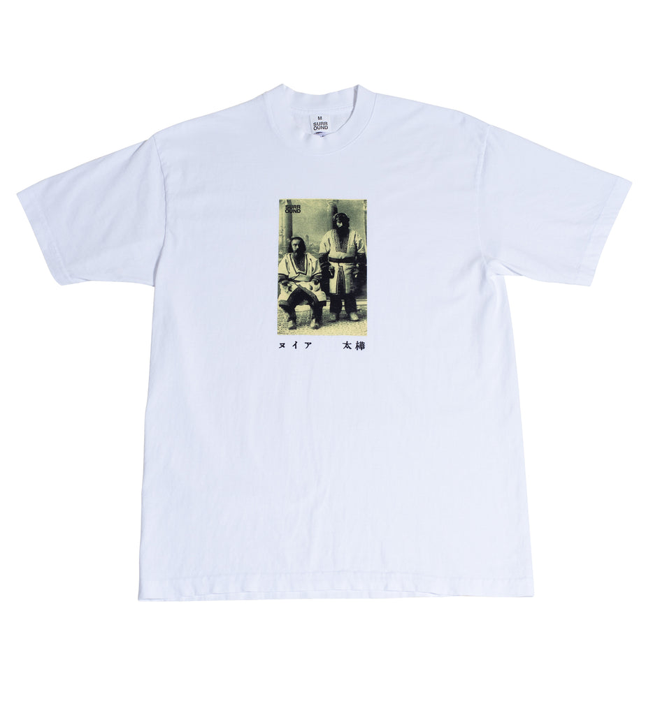 "Surround ""Ainu Tee"" White"