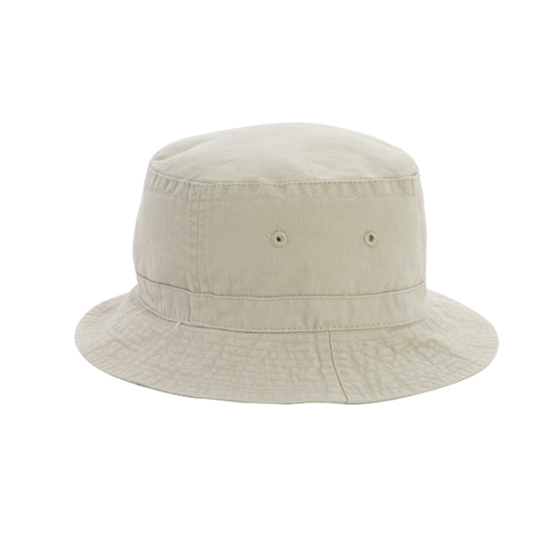 "Cobracaps ""Cotton Twill Bucket Hat"" Stone"