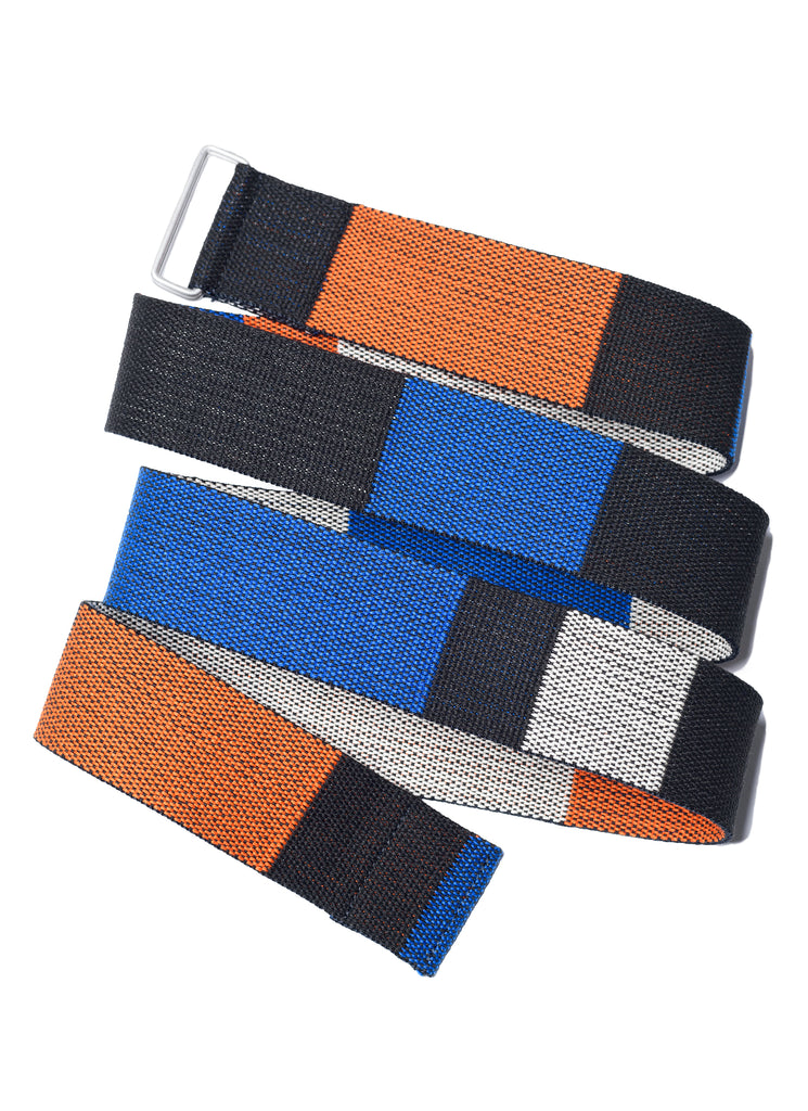 "UNDERCOVER ""UCZ4W01 Multi Color Tape Belt"" Black Base"