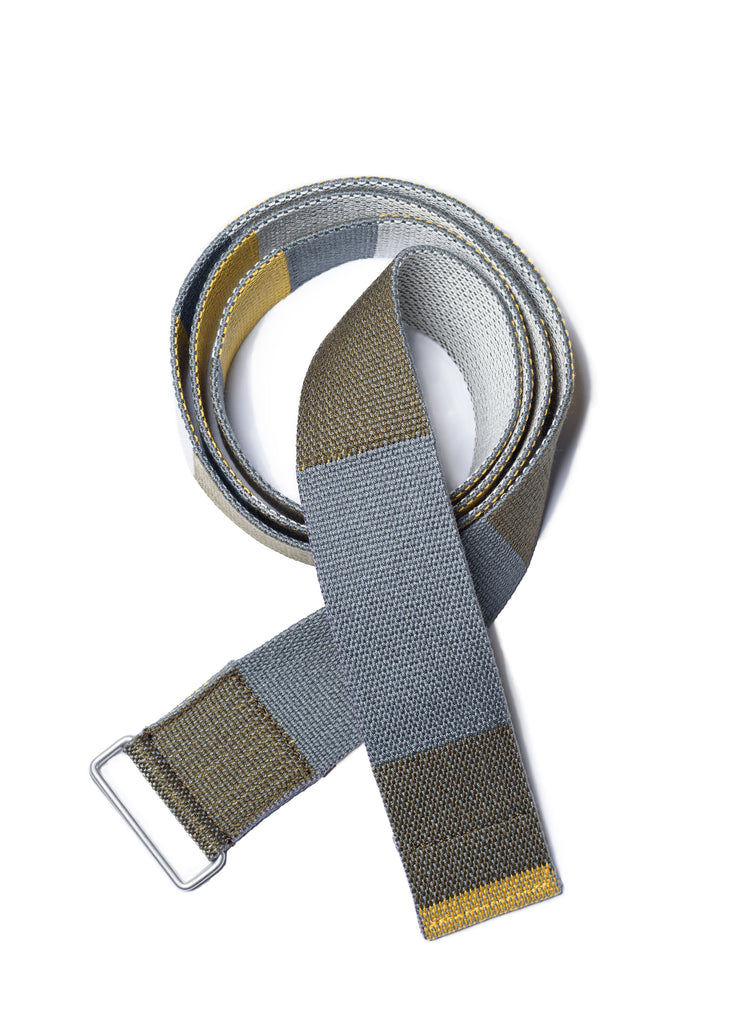 "UNDERCOVER ""UCZ4W01 Multi Color Tape Belt"" Khaki Base"