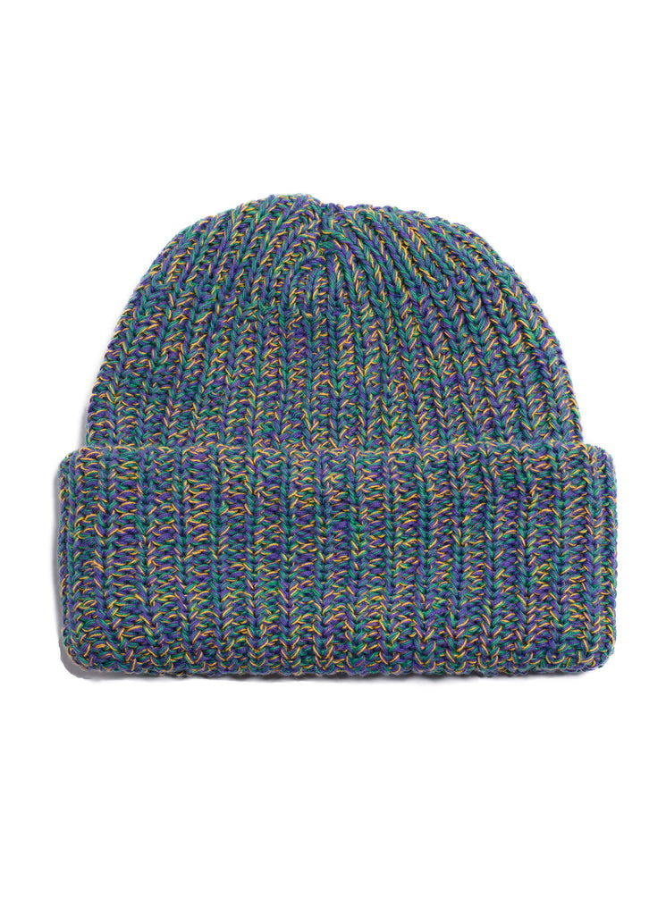 Cotton Knit Beanie - Multi Color