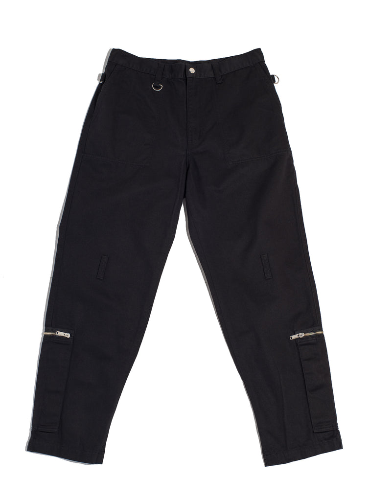 "UNDERCOVER ""Ankle Zip Pants"" Black"