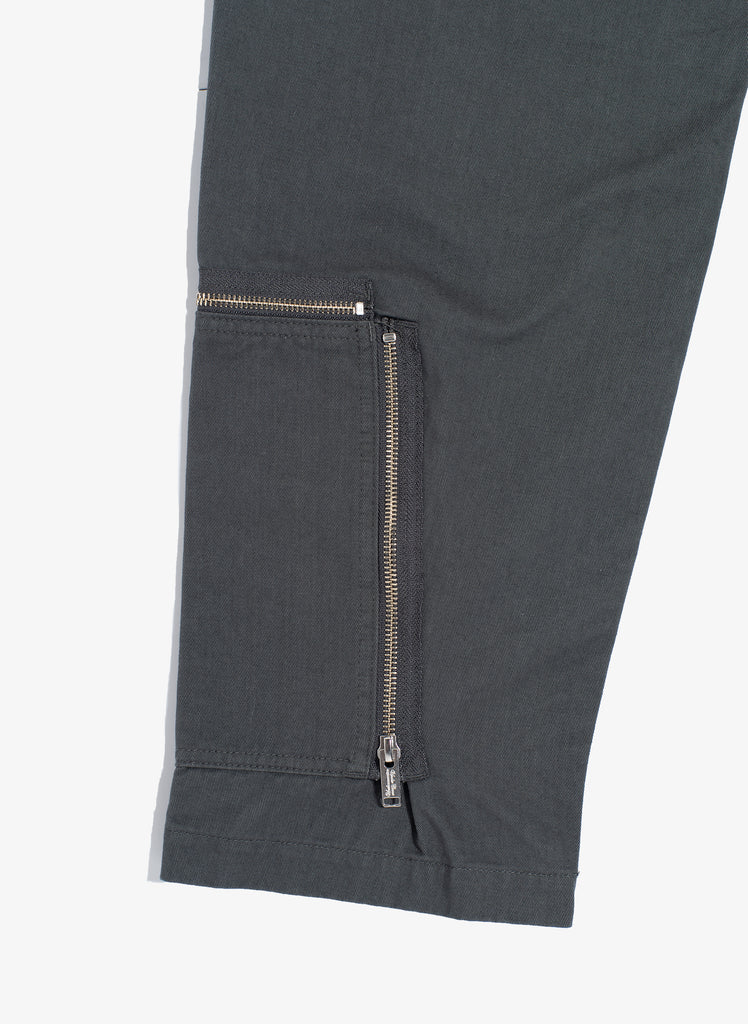 "UNDERCOVER ""Ankle Zip Pants"" Gray"