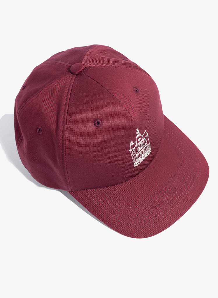 "UNDERCOVER ""Hill Top Church Hat"" Bordeaux"