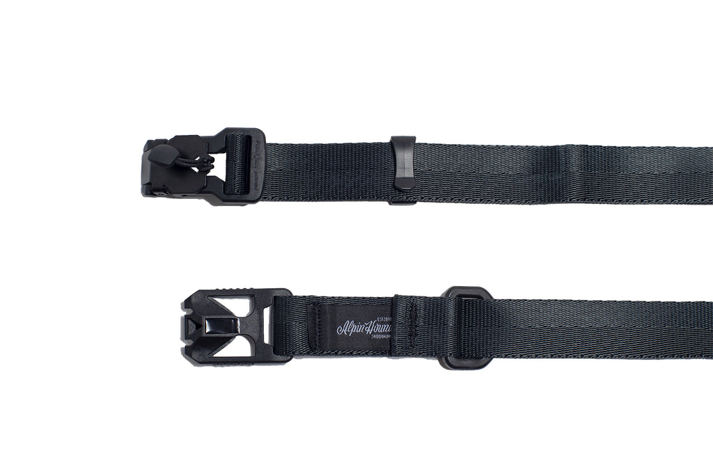 Custom Made Fidlock Buckle Mil Spec Nylon Belt - Black