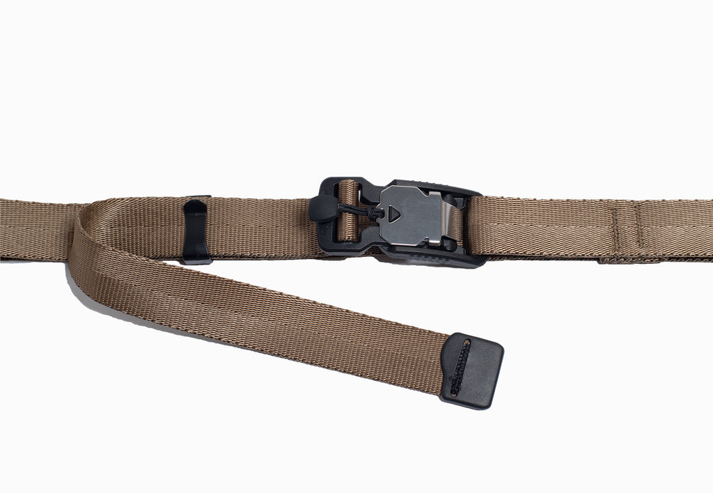 Custom Made Fidlock Magnetic Buckle Mil Spec Nylon Belt -Coyote-
