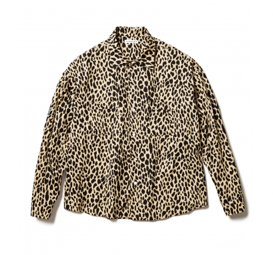 Flagstuff 'Leopard L/S Big Shirt'