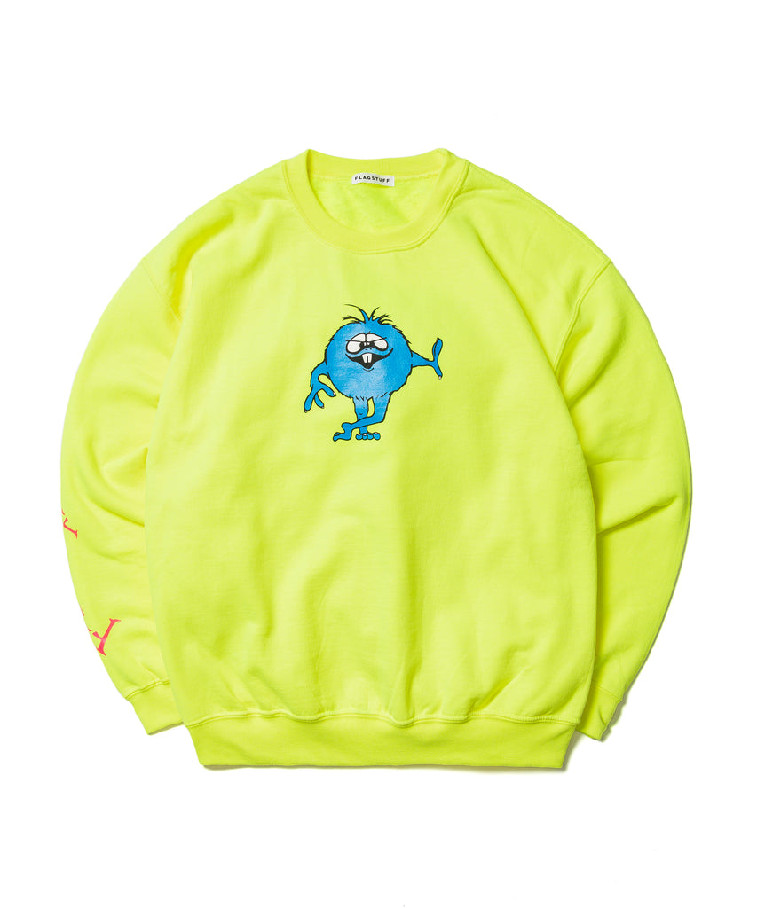 "Flagstuff ""Monster Sweat Shirt"" Yellow"