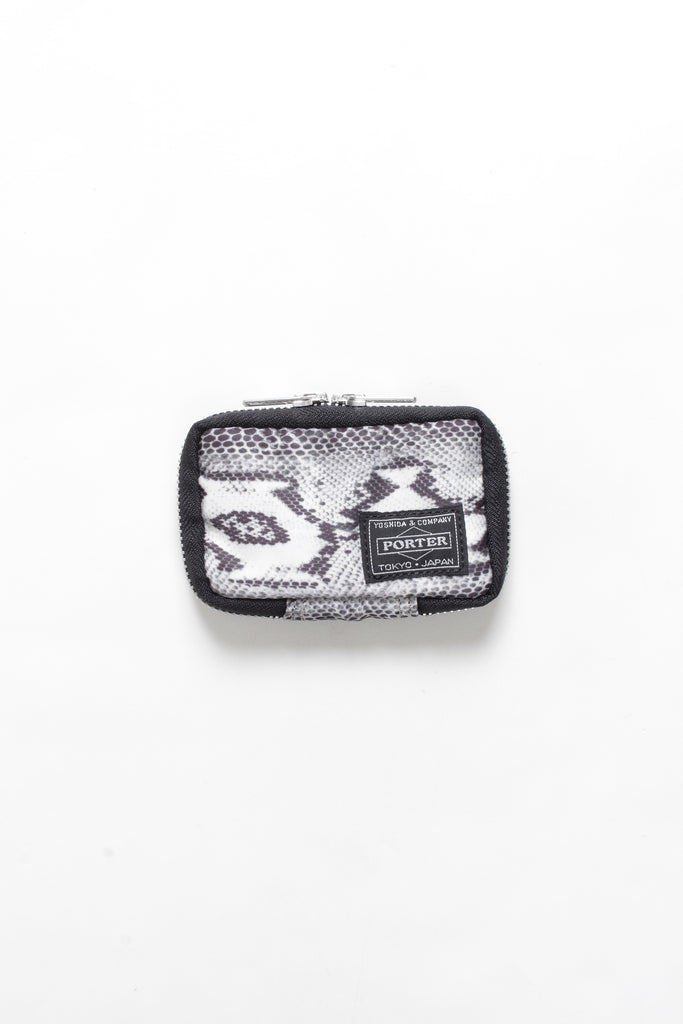 "WACKO MARIA ""WM x PORTER Jet Key Coin Case"" White"