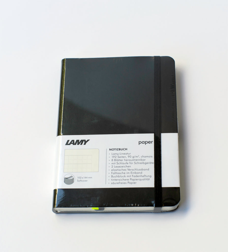 "LAMY ""Softcover Notebook"" A6 Black"