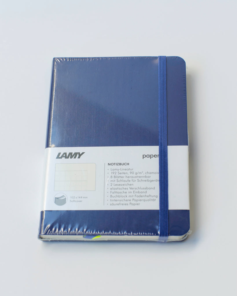 "LAMY ""Softcover Notebook"" A6 Blue"