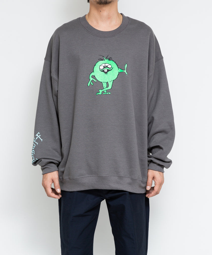 "Flagstuff ""Monster Sweat Shirt"" Gray"