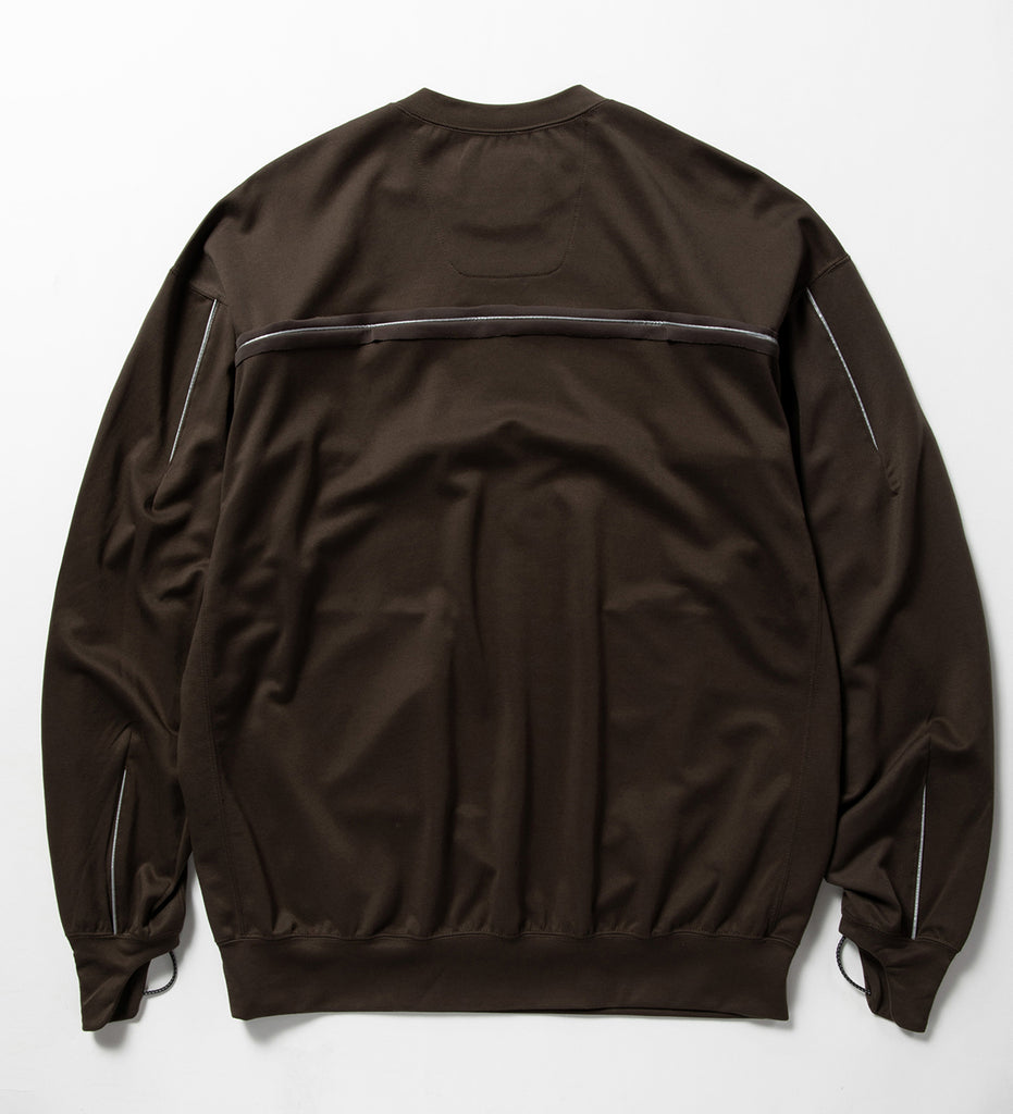 "meanswhile ""Dry Smooth Sweatshirt"" Khaki"