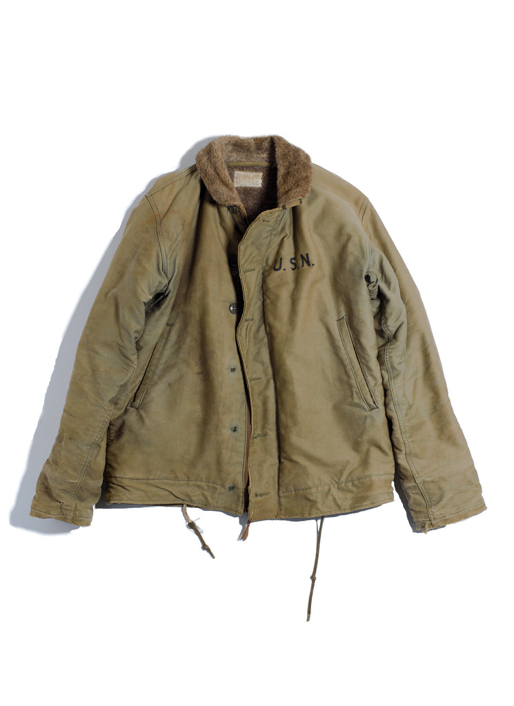 USN N-1 Deck Jacket from 1940's