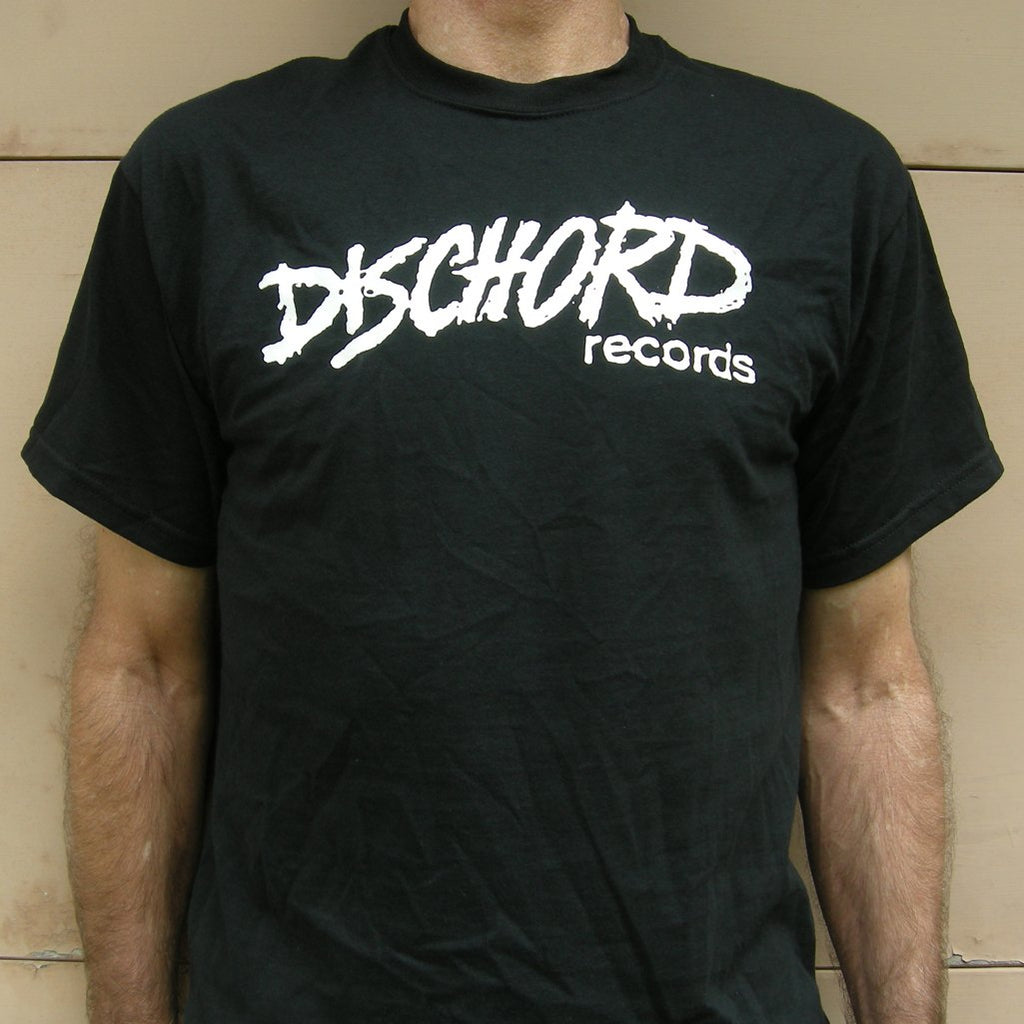 "Dischord Records ""Old Logo S/S Tee"" Black"