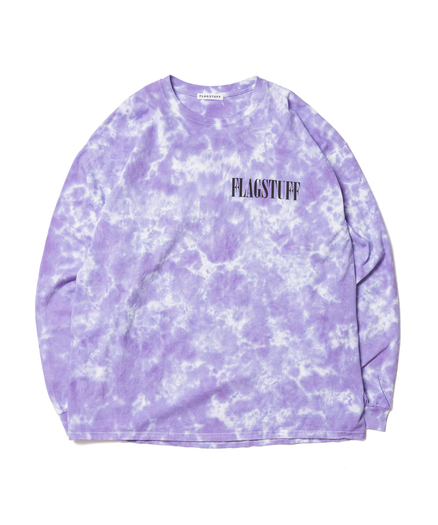 "Flagstuff ""Fade Away L/S Tee"" Purple"