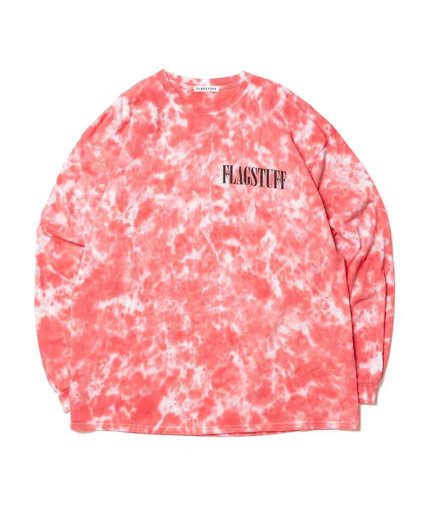 "Flagstuff ""Fade Away L/S Tee"" Red"