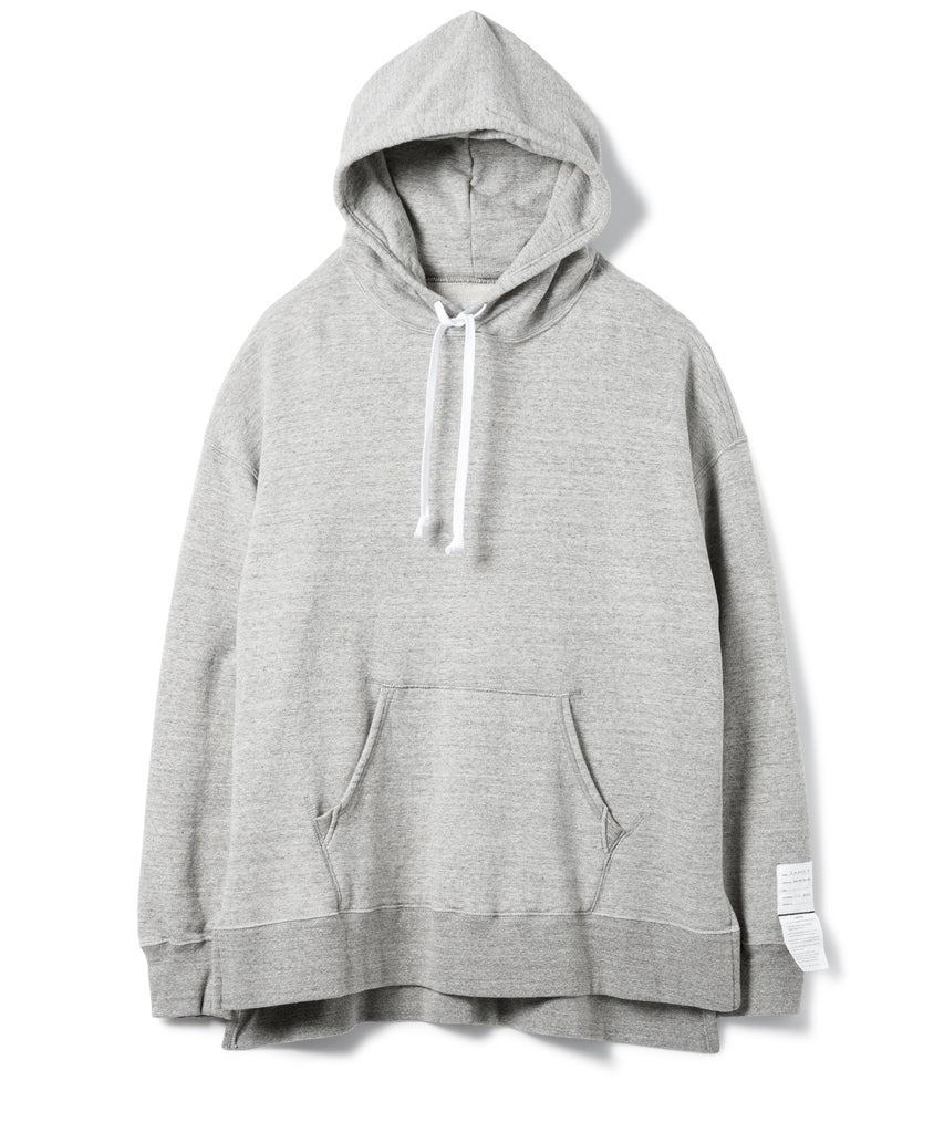 "Sandinista MFG ""Side Slit Hooded Sweatshirts"" Heather Gray"