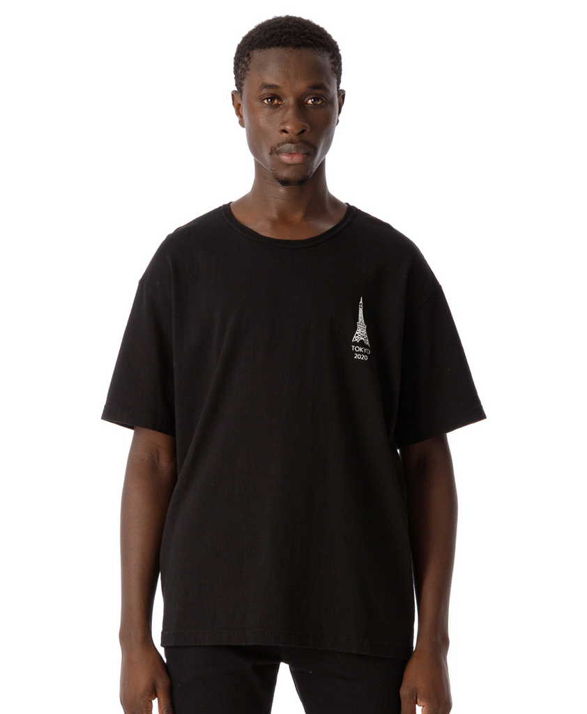"Sandinista ""Not Sky Tree Tee"" Black"