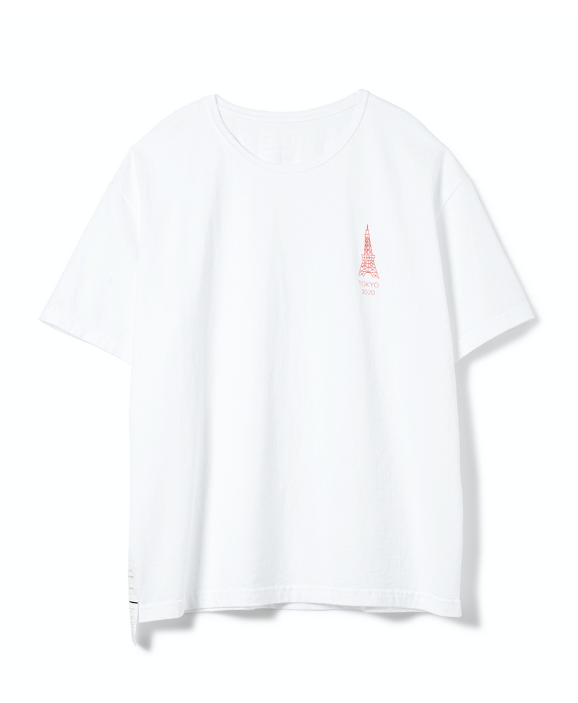 "Sandinista MFG ""Not Sky Tree Tee"" White"