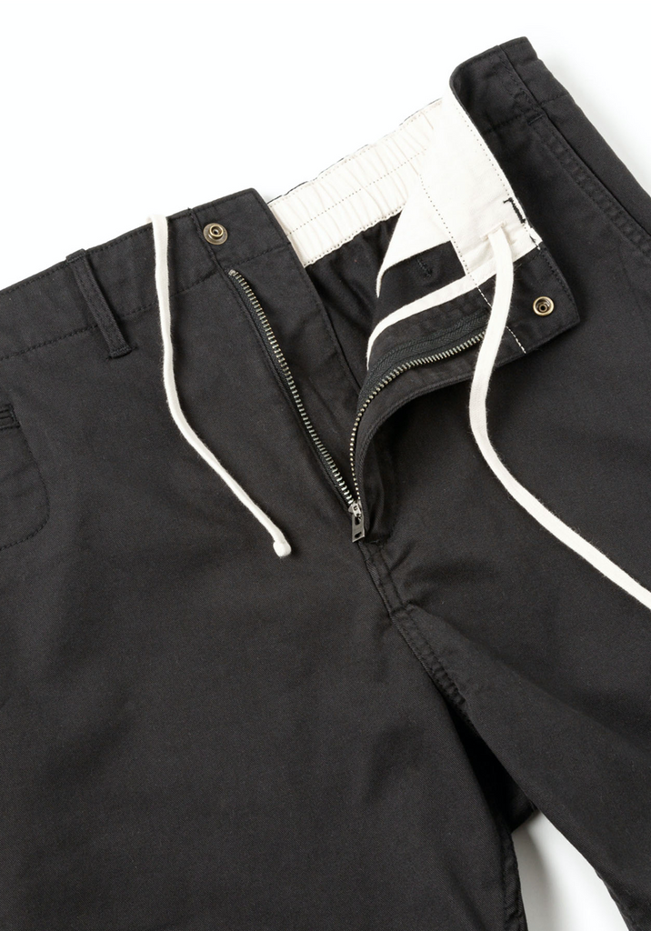 "Sandinista MFG ""B.C Chino Stretch Shorts"" Black"