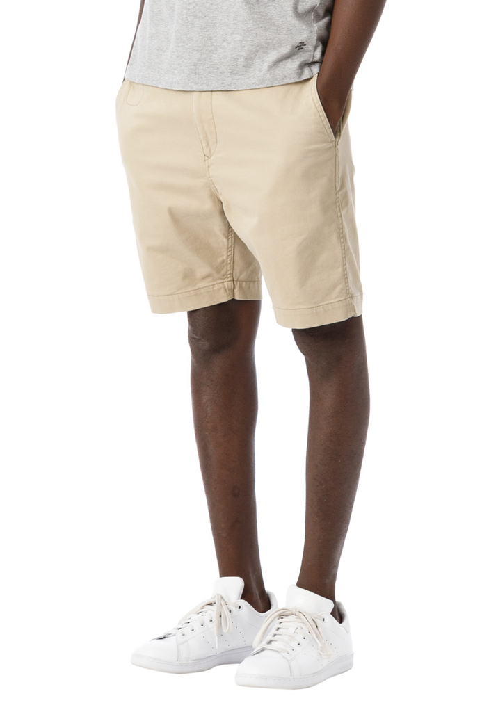 "Sandinista MFG ""B.C Chino Stretch Shorts"" Beige"