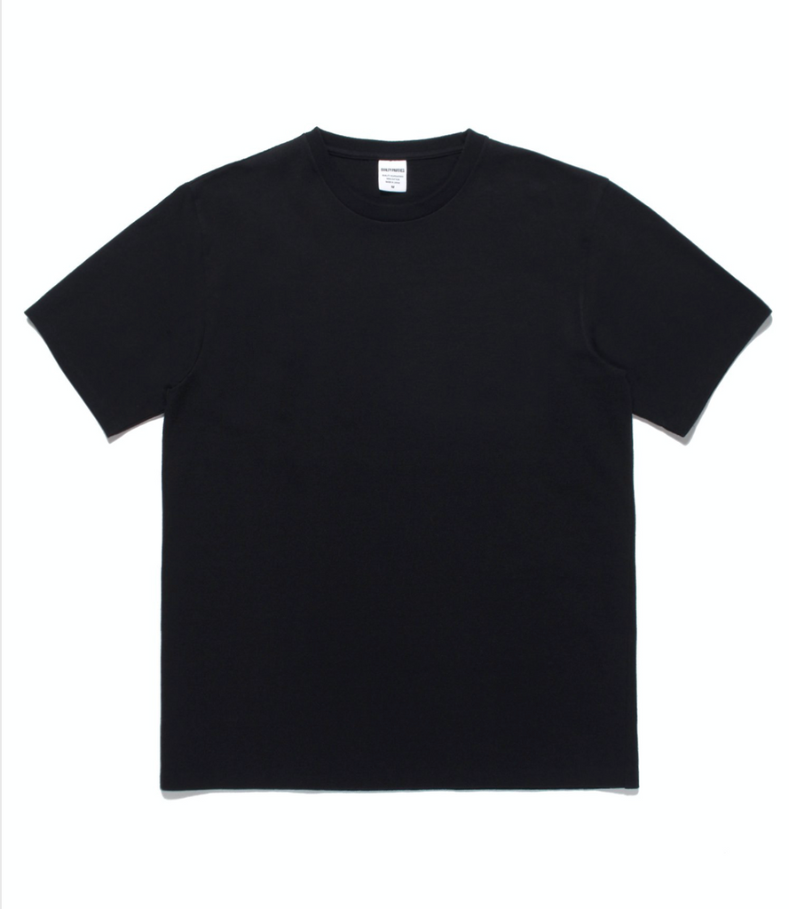 "WACKO MARIA ""Tim Lehi -  S/S Washed Heavy Weight Crew Neck Tee"" Black"