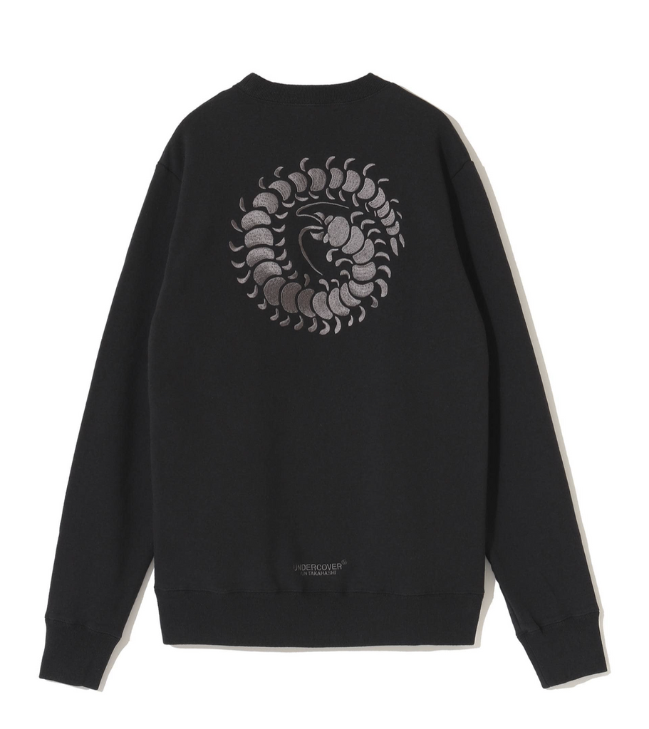 "UNDERCOVER ""UCZ4892-2 Embroidered Sweater"" Black"