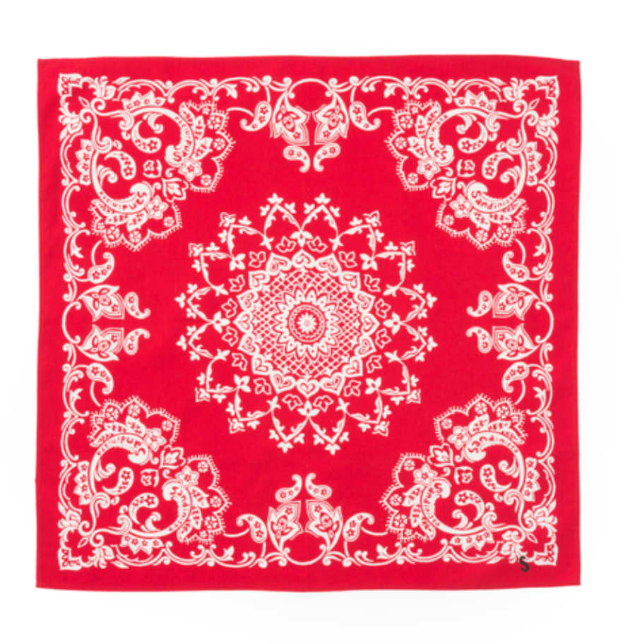 "Sandinista MFG ""Bandana"" Red"